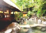 週2日~OK!土日祝のみの勤務も大歓迎です♪緑に囲まれた自然豊かな温泉施設にあるレストランです♪