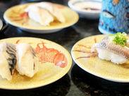 ≪未経験さん大歓迎保★≫ 回転寿司でホールスタッフを募集◎シフト融通で家庭や学校とも両立しやすい♪
