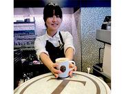 働きながら自然と身に付くコーヒーの知識…\家で淹れるコーヒーもおいしくなった!/という声多数!研修もあるので安心ですよ★