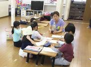65名ほどの児童とスタッフが集う学童クラブ◎小学校低学年の子が60%以上!!子ども好きには最高の職場です♪