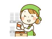 久しぶりにお仕事をする方も安心★ 簡単な商品の品出し作業! 新商品や限定商品をいち早くチェックできる♪