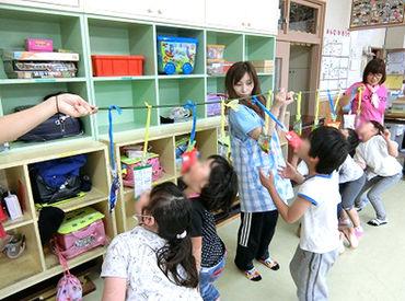 <未経験OK☆> 児童保育センターで、子どもを見守るお仕事です♪写真の様な行事も沢山行われるのでとっても賑やかですよ!