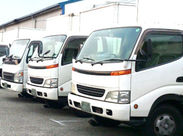 配送・集荷は主に札幌市内や近郊なので、日またぎなどの長距離運転はありません!中型車の運転経験が浅い方でも安心♪