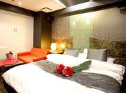 20~50代の方活躍中のリニューアル済みのオシャレなホテル+。・゚お部屋もとってもキレイだから、お仕事は楽チンです!