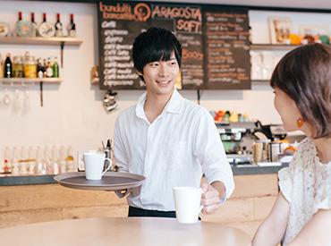 【マネージャー(候補)】はたらく魅力がいっぱい!カフェビストロ☆マネージャー募集
