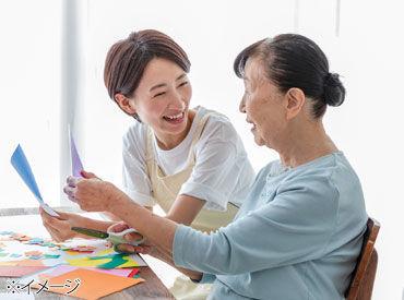 <事前に職場環境をCHECK> *利用者の方は何人ぐらい? *従業員の方の年齢層は…? などなど、具体的な質問もOK!