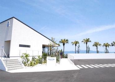 平川の海沿いにリゾート風のカフェが OPENしました★ 新しいピカピカのお店で働きませんか?
