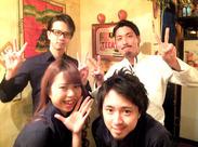 お客さんも店員も、ココに来ればみんなが「アミーゴ」!笑って騒いでガッツリ稼いで、パーッと渋谷で遊んじゃおっ!(*^^)v