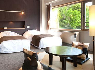 大人のための癒し空間『エイジングケアリゾート』でお客様をおもてなし♪ ホテル勤務が初めての方も、手厚くサポートします!!