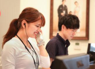 らかんスタジオは関東を中心に16店舗展開する約100年続く写真スタジオです* アットホームな社風で未経験者でも安心して働けます