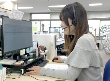【事務スタッフ】*簡単な電話対応&データ入力をお任せ*【PCで文字入力】ができれば十分♪居心地が良い職場で、長く定着するスタッフが多数◎
