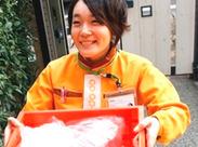 食品や日用雑貨などを配送します♪コープ組合員の方にお届けするのでいつの間にか顔見知りに♪