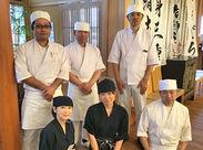 < 料理運びナシ > テーブルセットや片付けがメイン◎ お寿司は専門の職人さんが作ります♪