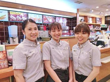 コーヒー好き注目!ドトールでSTAFF大募集◎ 1日3時間から働けるの、働きやすく続けやすい◎
