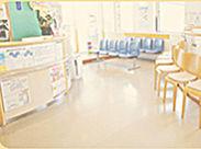 清潔感のあるキレイな医院です◎