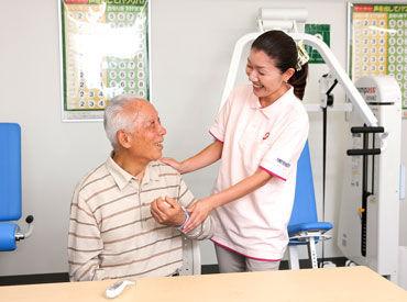 【看護師】\2019年3月NEWオープン♪/リハビリサポートがメイン★「汗かいたよ~」「頑張ってましたね!」と会話を楽しみつつオシゴト◎