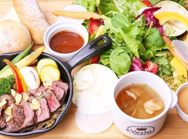 ≪まかないで食べられちゃう?!≫ フォトジェニックな料理に、思わずパシャリ♪ 女子会でも利用される、人気のVesta(ベスタ)◎