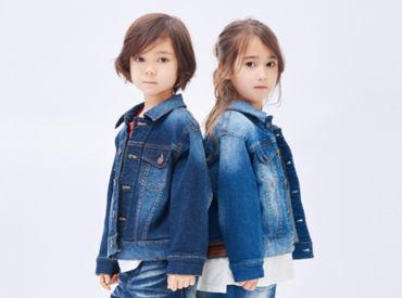 ~11月スタートのお仕事~ レクトで販売スタッフ募集.+* 通販サイトでも人気の子供服ブランドです♪