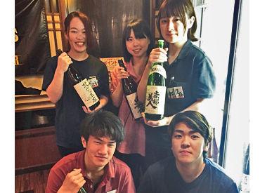 お魚と日本酒が自慢のお店! 美味しいまかないが無料で食べられます♪♪ 食費の節約にもなり、がっつり稼げるお仕事です!
