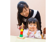 子どもたちの『できた!』や笑顔にやりがいが感じられるお仕事です♪ 子どもが好きな方や子育て経験を活かしたい方にピッタリ◎