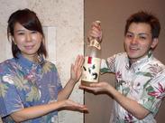 未経験・バイトデビューの方も大歓迎!沖縄がスキ、自由な雰囲気の中で働きたい…そんな方はぜひ一緒に働きましょう♪(*^^*)