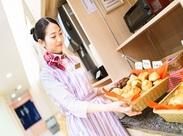 ≪まるでパン屋さん!?≫ 3月より、パン焼きの業務が増えました!! 朝食はバイキングスタイル♪ だからお仕事はとってもシンプル★