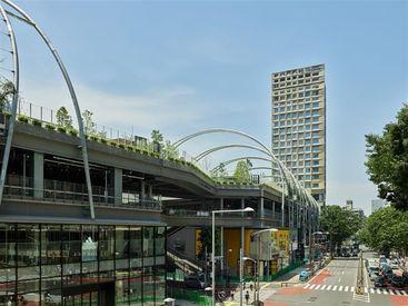 **sequence MIYASHITA PARK** *渋谷の新しいランドマーク* 開放的な職場環境などが注目です☆