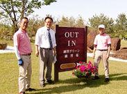 """ゴルフ好きの方には嬉しい、""""プレー割引""""の従業員特典も◎女性やシニアのお客さまが多い、比較的優しいコースです!"""