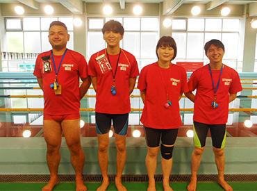 プール監視員・水泳指導員&受付STAFFを大募集!夏に向けてしっかり稼ぎませんか♪