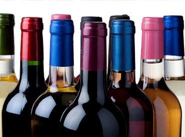 全国各地の様々な地酒や 各国のワインなど品揃えが豊富なので 「お酒が好き」「詳しくなりたい」 という方にもピッタリ★