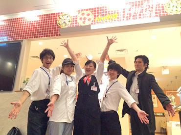 【ホールstaff】みんな大好き<<カプリチョーザ>>!!\週1日/4h~OK★スタッフ満足度も◎/まかないあり!