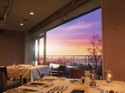~*オーベルジュ サウステラス*~ 施設内のレストランからはこんな絶景も!! 海と山に囲まれたホテルで一緒に働きませんか?★