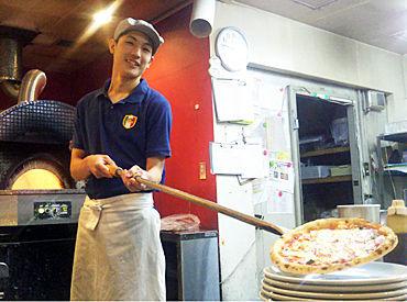 メインはキッチンでの作業となります! パスタやピザ、デザートを作れるようになれますよ★