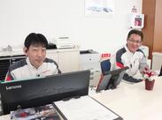 【作業量が多い時にお手伝いをしてくださる、サービススタッフさんです♪】受付は別業務なので、自分の作業だけに集中出来ます!