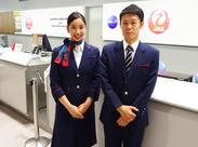 だれもが憧れる航空業界★ 関西空港内でのオシゴトです♪ 『グランドスタッフに興味がある』『語学を活かしたい』そんな方必見!