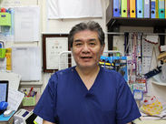 院長の長田です。最初は一緒に働きながら、お互いが納得する形で院を譲り渡したいと思っています。