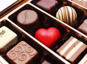 【バレンタインチョコレート販売】\\150名の大量募集♪//京都市内の百貨店で、チョコの販売をお願いします★お友達同士での応募も大歓迎です♪♪