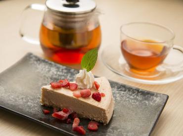 【カフェstaff】和パスタ&チーズケーキが人気のお店★≪平日のみ≫≪15時まで≫も大歓迎!家庭やWワークとの両立にもオススメです♪