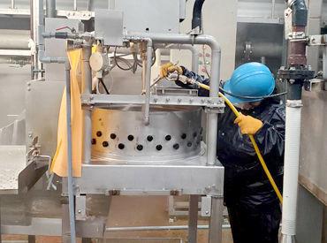 週2~6日でシフトの相談OK◎ 高圧洗浄機を使用した清掃業務です!