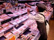 ≪地域密着型のスーパーです≫ 常連のお客様も多いので、ほどよくリラックスして働けます!