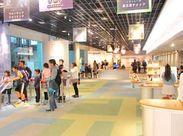 明るい雰囲気の館内♪ 消費生活に関する知識や接遇マナーも身につきます。