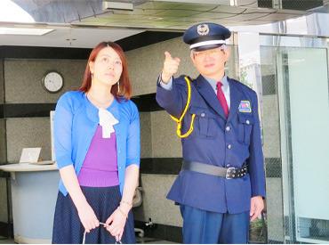 【とっても優しい警備員さんです】 頼りがいがあり、丁寧にご案内する警備員さん♪
