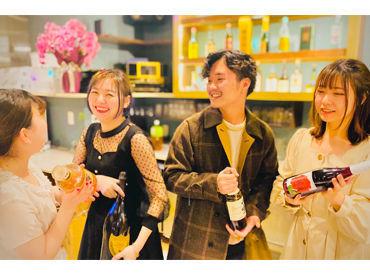 ご近所にある、姉妹店では… 20代活躍中!今いるスタッフは【全員女性】で、みんなとっても仲良し♪*