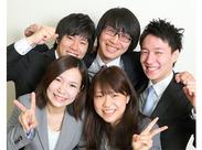 【大学生活躍中♪】 大学1・2年生がメインで活躍中!仕事のアドバイスはもちろん、学生生活のコツも聞けるかも!?