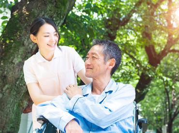 介護業界が初めての方でも大丈夫◎ 周りには未経験からスタートしたスタッフもたくさん♪安心して働けますよ! ※画像はイメージ