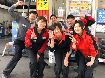 【ガソリンスタンドSTAFF】☆10~20代のフレッシュなメンバー活躍中☆なんと言っても…シフトの融通◎[週1/2h~]なので好きな時にシフトIN◎+*.