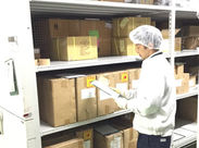 ≪男性スタッフ活躍中≫機内販売カート用の商品管理をお任せします!■商品の荷受⇒■在庫の補充⇒■データ入力