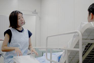 【看護助手】[駅チカ]有明駅から徒歩2分!100年以上の歴史がある、がん専門の病院です◆看護師・医師がいるから、未経験スタートも安心◆