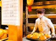 おいしいパンを通じて、お客様と直接関わることができる店舗です。お仕事の満足度が高いのも魅力的◎