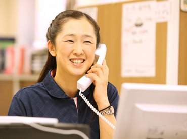 【事務STAFF】★介護施設内での事務のお仕事★未経験OK!≪週3日~≫働きやすい環境です!受付や電話応対など◎スキルUPも目指せる☆